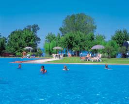 Lido Camping Village, Lake Bolsena,Tuscany,Italy