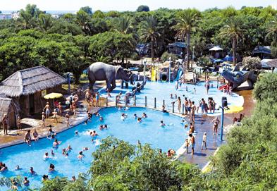 Cambrils Park, Salou,Costa Dorada,Spain