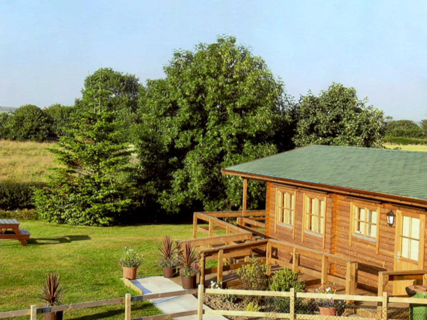Thornlea Log Cabin, Whitby,North Yorkshire,England