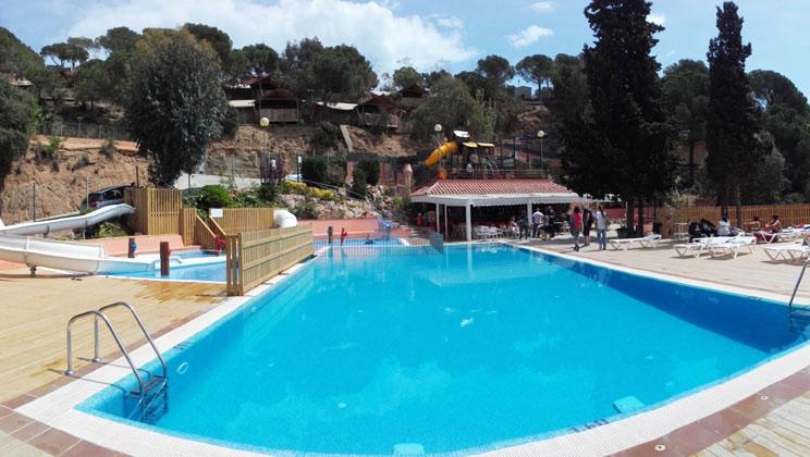 Canyelles Campsite, Lloret de Mar,Costa Brava,Spain