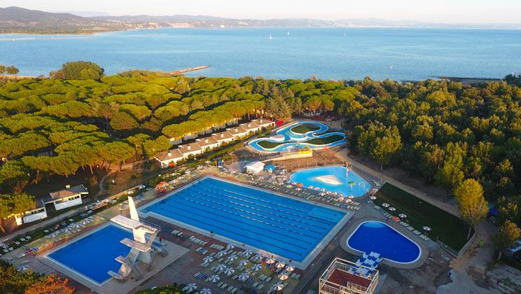 Marina Julia Camping Village, Monfalcone,Adriatic Coast,Italy