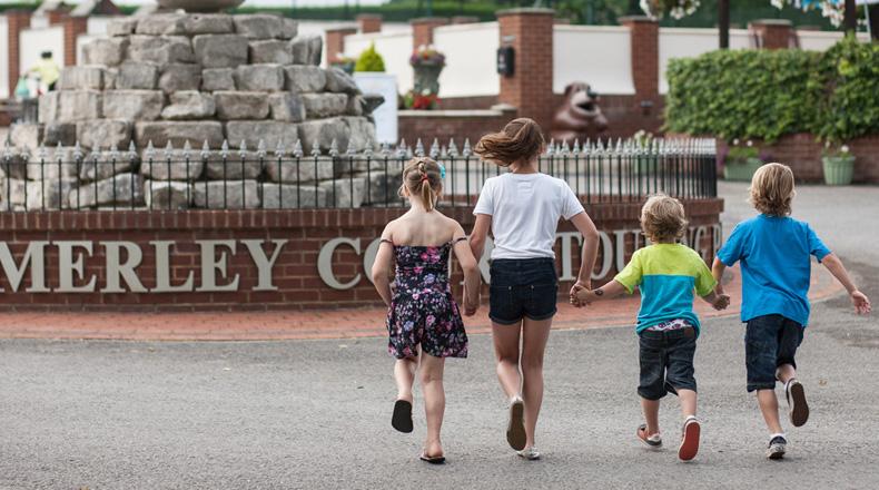 Merley Court Touring Park, Wimborne,Dorset,England