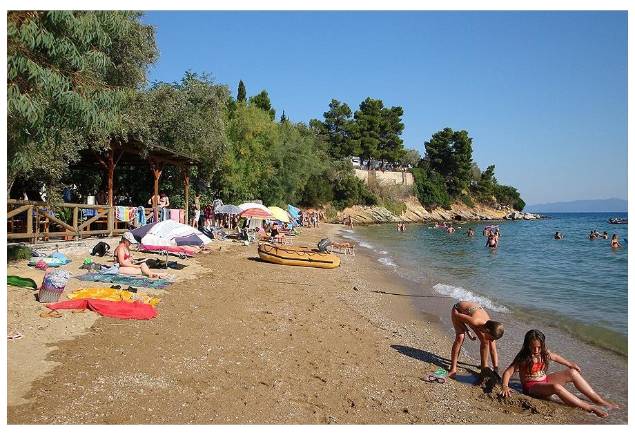 Campsite Sikia, K?to Gatzea,Thessaly Sporades,Greece