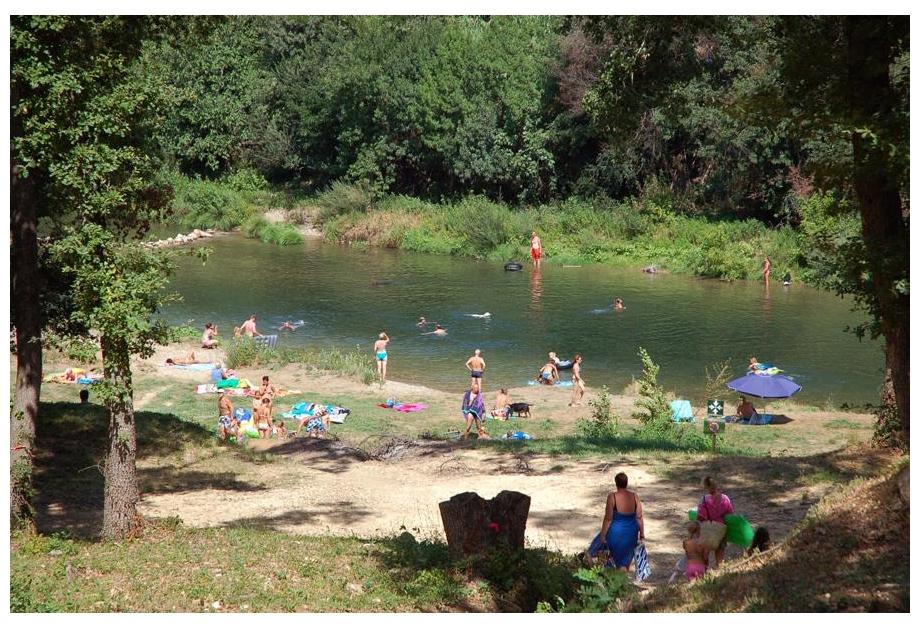Campsite La Vallee Verte, La Roque-sur-Ceze,Languedoc Roussillon,France