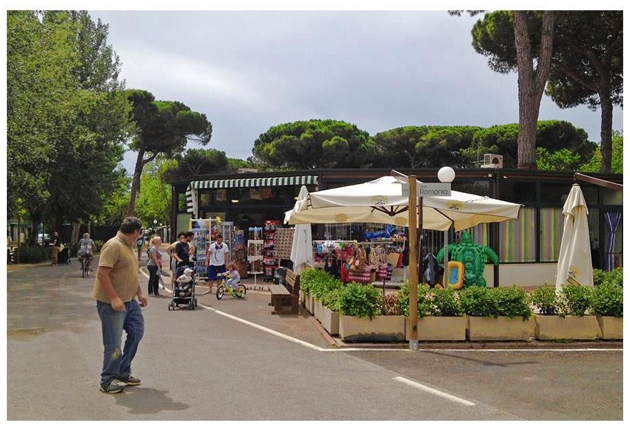 Marina Camping Village, Punta Marina,Emilia Romagna,Italy