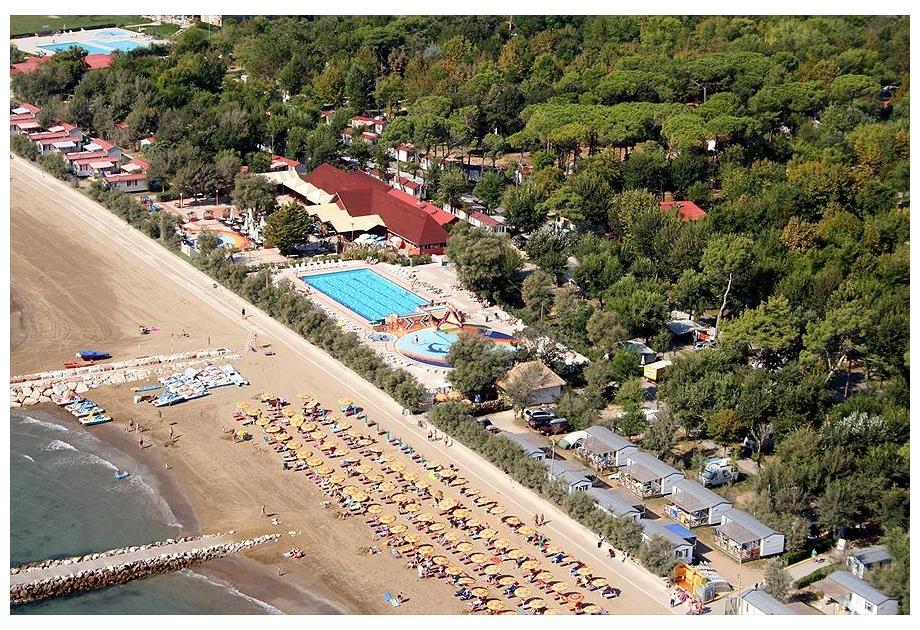 Campsite San Francesco, Caorle,Veneto,Italy