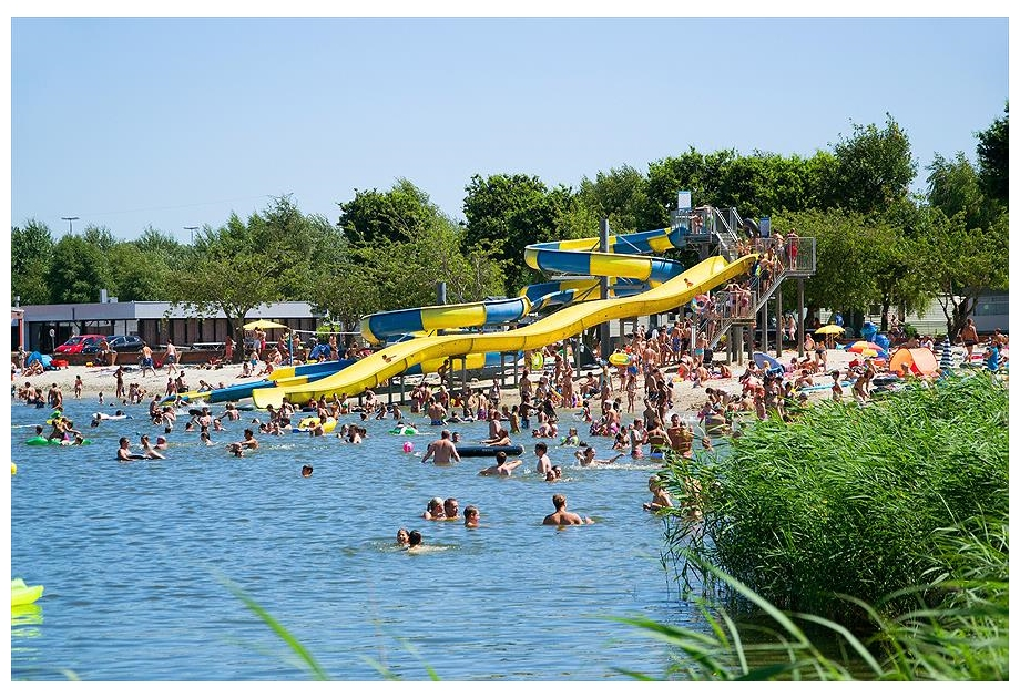 Campsite Klein Strand, Jabbeke,West Flanders,Belgium