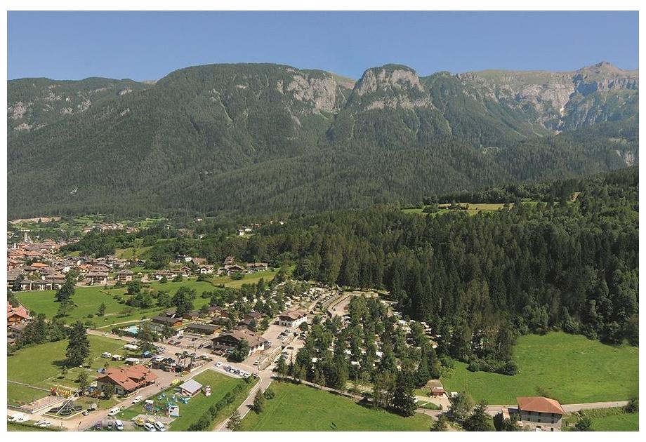 Dolomiti Camping Village, Dimaro-Folgarida,Dolomites,Italy