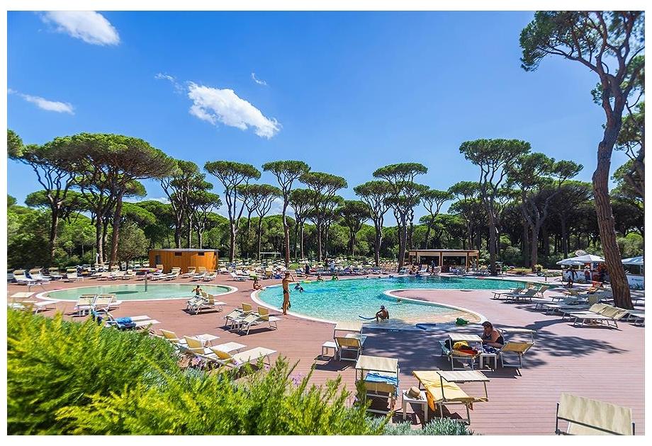 Campsite Cieloverde, Marina di Grosseto,Tuscany,Italy