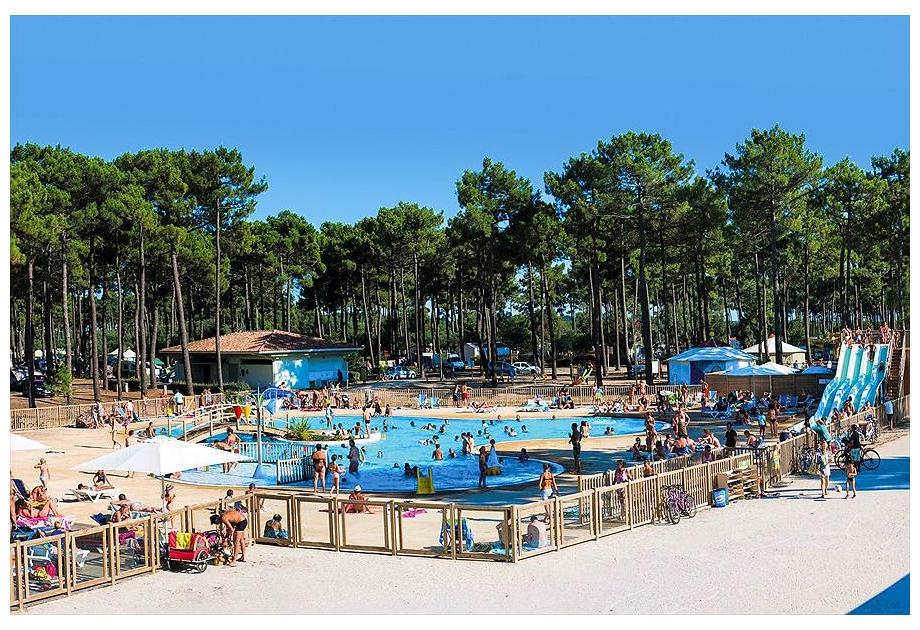 Campsite Campeole Medoc Plage, Montalivet-les-Bains,Aquitaine,France