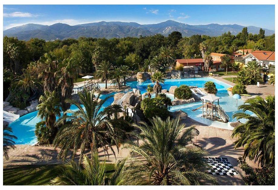 Campsite La Sirene, Argeles-sur-Mer,Languedoc Roussillon,France