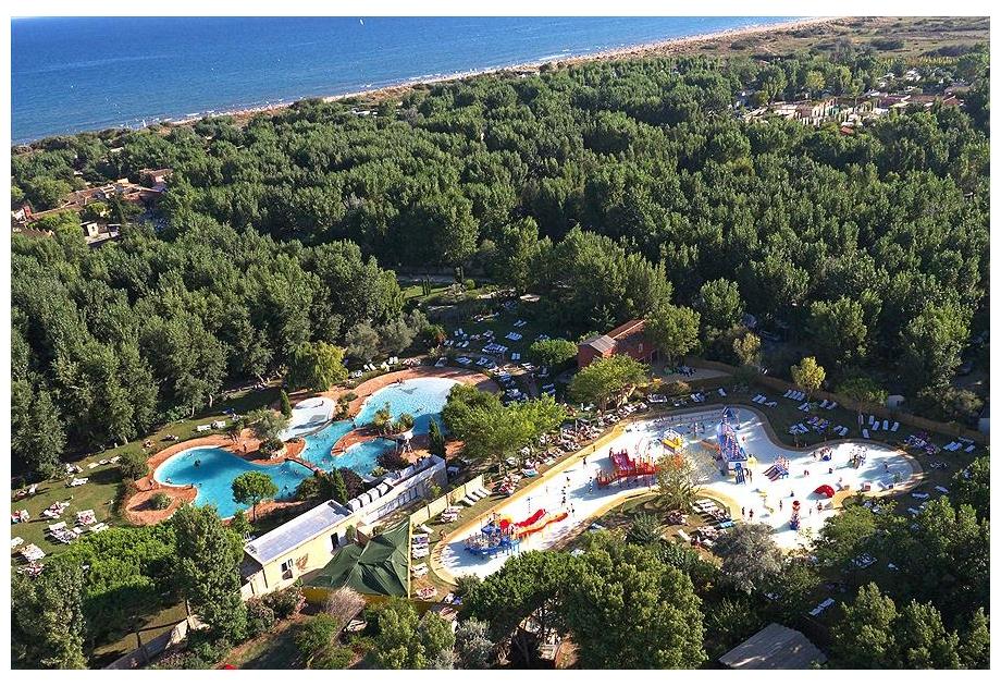 Campsite Le Serignan Plage, Serignan,Languedoc Roussillon,France