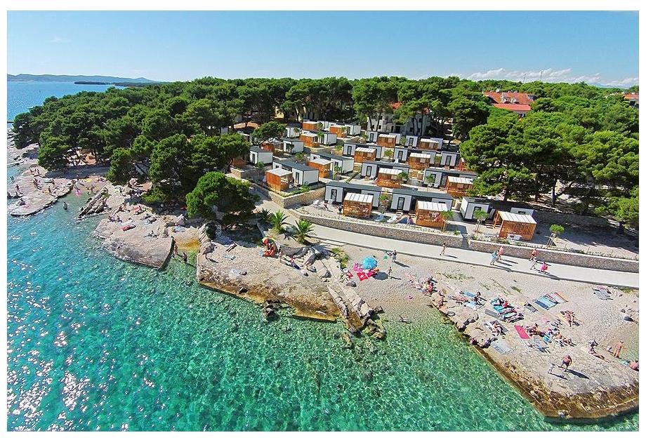 Campsite Kozarica, Pakostane,Zadar,Croatia