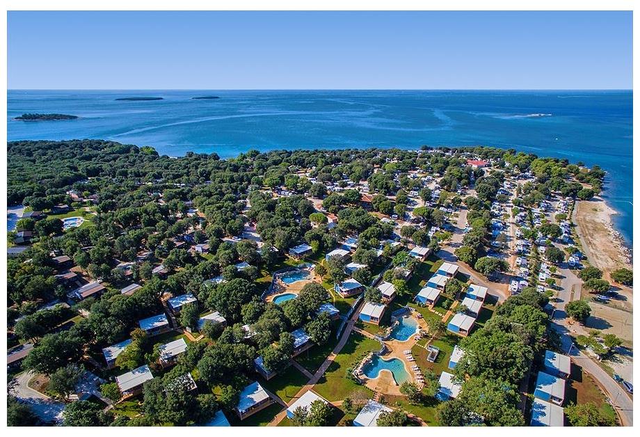 Campsite Polari, Rovinj,Istria,Croatia