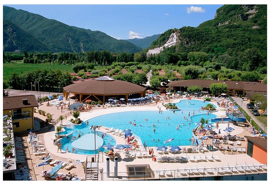 Continental Camping Village, Fondotoce,Piedmont,Italy